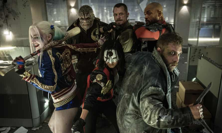 Suicide Squad… irony- and humour-free.