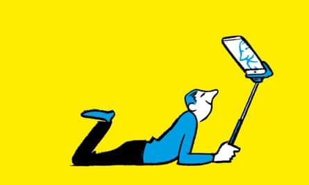 Nishant Choksi selfie illustration