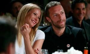Gwyneth Paltrow and Chris Martin in 2014.