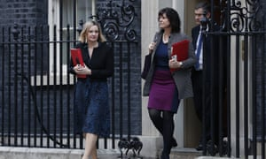 Amber Rudd, Claire Perry and David Gauke leave   10 Downing St