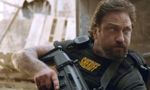 Bad boy … Gerard Butler in Den of Thieves.