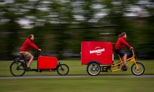Outspoken Delivery already runs cargo bike operations in Cambridge, Glasgow and Norwich.