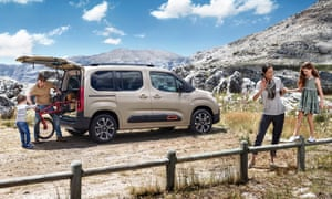 Let's go: the Citroen Berlingo brims with the possibility for adventure thanks to its huge storage area and affordable running costs.