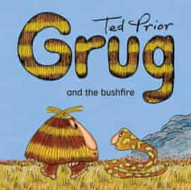 Cover image of Grug and the Bushfire