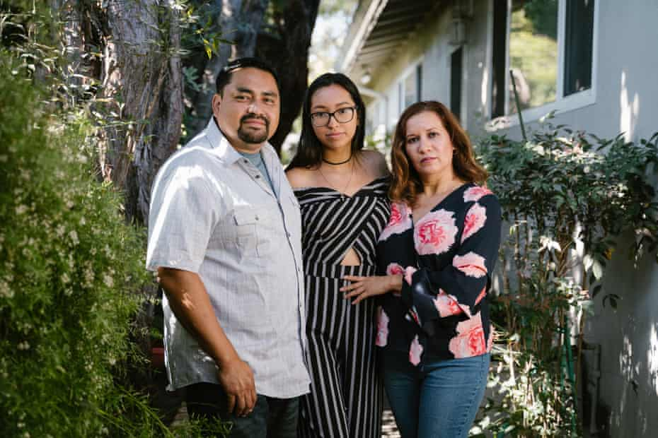 """Lidia Carrillo says she fears for her husband, Juan Lopez, and daughter, Adriana Lopez, every day. """"I don't know if I'm going to see them at the end of the day."""""""