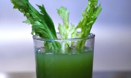 Celery juice from Wild by Tart