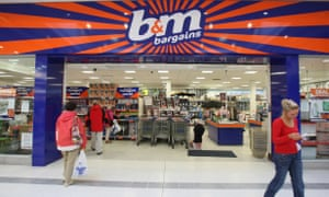There are 569 B&M stores in the UK now.