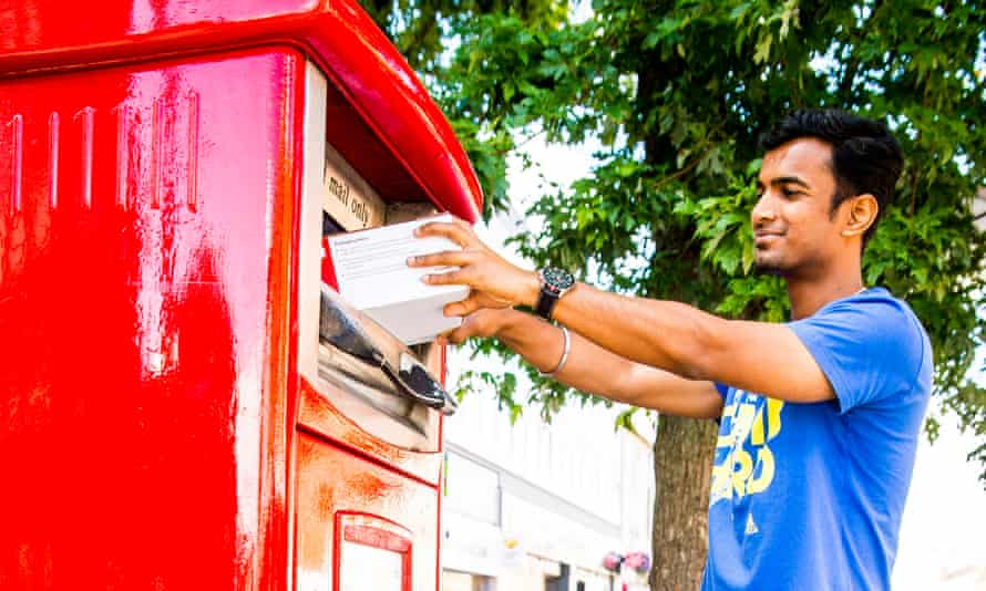 Royal Mail's new parcel postbox