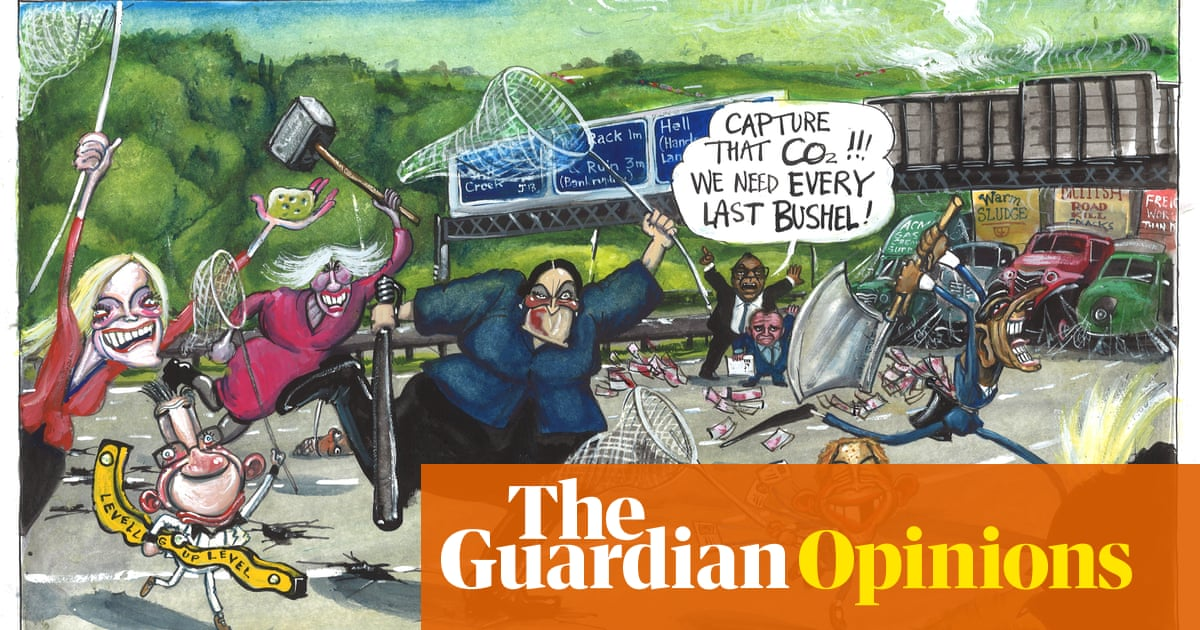 Martin Rowson on the energy crisis and M25 injunction – cartoon