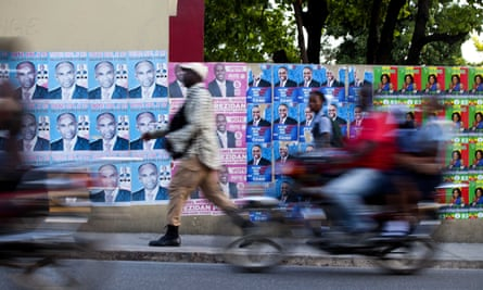 The rough-and-tumble competition for votes in Haiti, the western hemisphere's poorest country, can be dizzying.