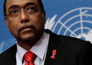 Michel Sidibé, executive director of UNAids
