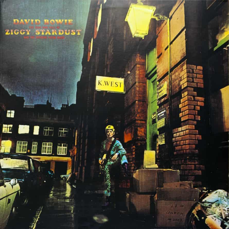 Ziggy Stardust album cover