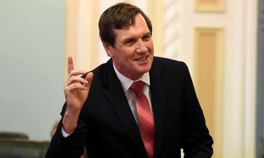 The Queensland resources minister, Anthony Lynham, has been accused of using exaggerated coal mining job numbers .
