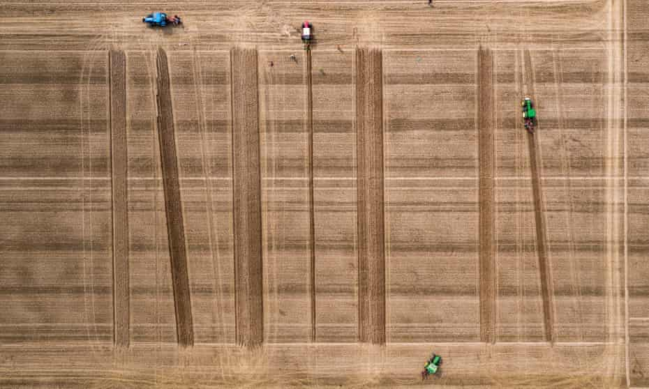 The World Ploughing Championships 2018, at Herzog von Württemberg Einsiedel farm estate in Kirchentellinsfurt, Baden-Württemberg in Germany