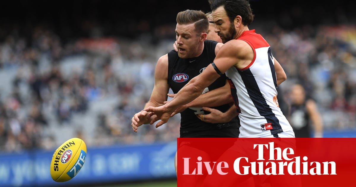 4fd6b5beabf Melbourne defeat Carlton in thriller, Knights stumble at final hurdle:  Australia sportwatch – as it happened