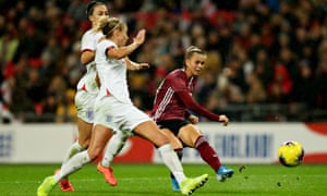 Klara Bühl's neatly slots home in the 90th minute to give Germany victory.