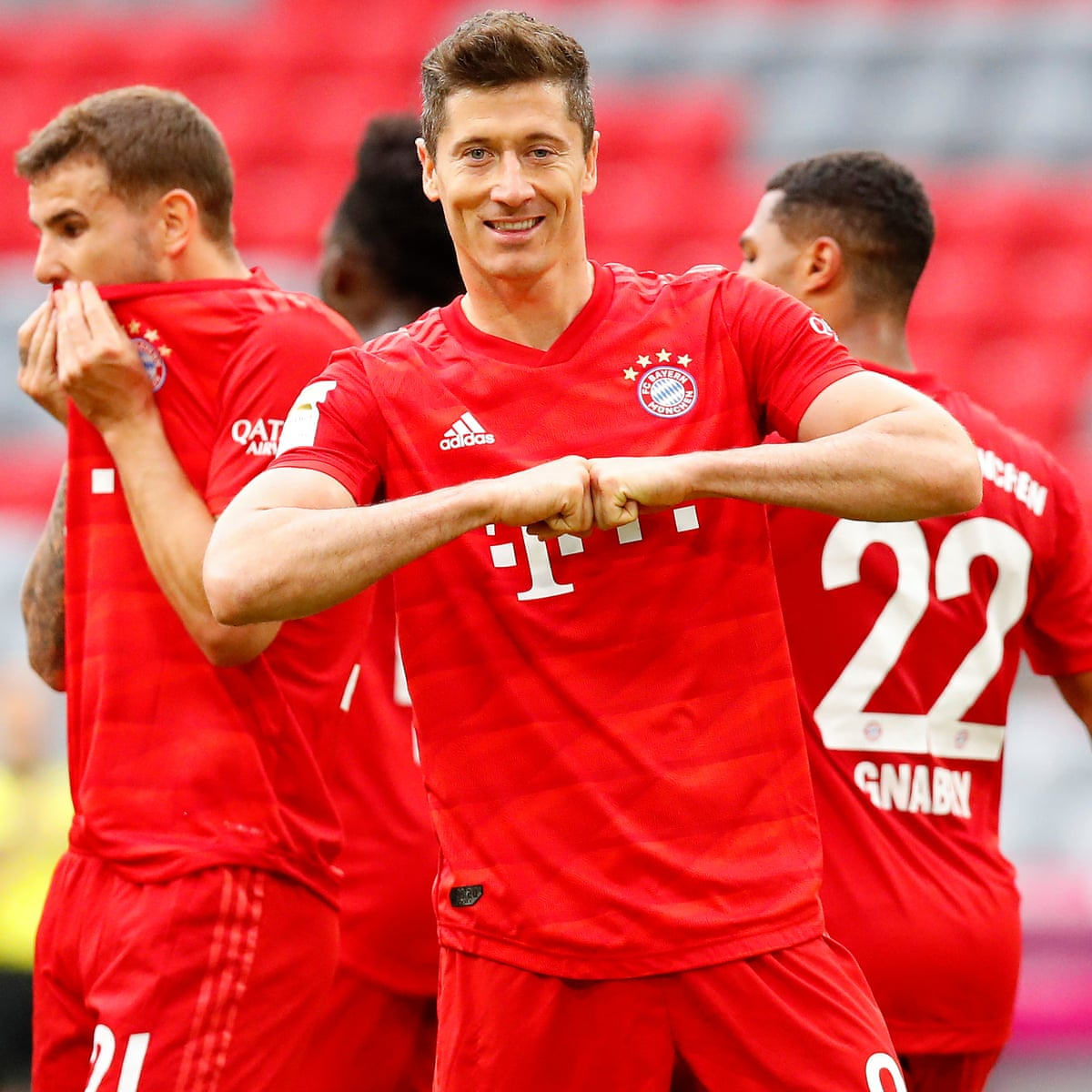 Bayern Munich 5 0 Fortuna Dusseldorf Bundesliga As It Happened Football The Guardian