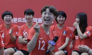South Korea players will hope to progress from Group A
