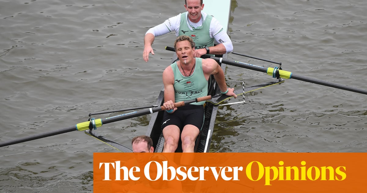 James Cracknell's milestone is not sport but masochism in