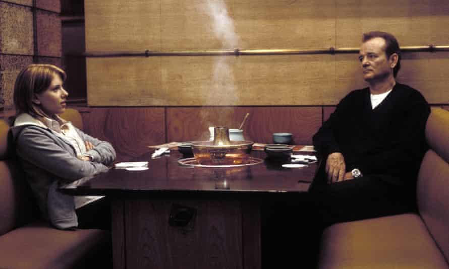 Scarlett Johansson and Bill Murray