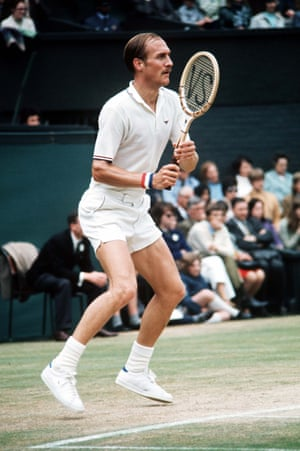 """American tennis player Stan Smith won Wimbledon in 1972, but he is perhaps best known for the Adidas trainer that bears his name. It has been called the trainer that changed how """"we wore trainers, because it bridged the gap between the obsessive 'sneakerhead' and a wider fashion culture""""."""