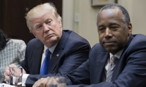 Because of the government shutdown over Donald Trump's demand for border wall funding Ben Carson's Department of Housing and Urban Development has furloughed the majority of staff.