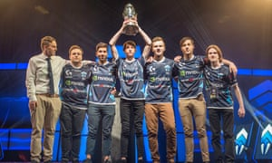 The Chiefs win the League of Legends Oceanic Pro League grand final