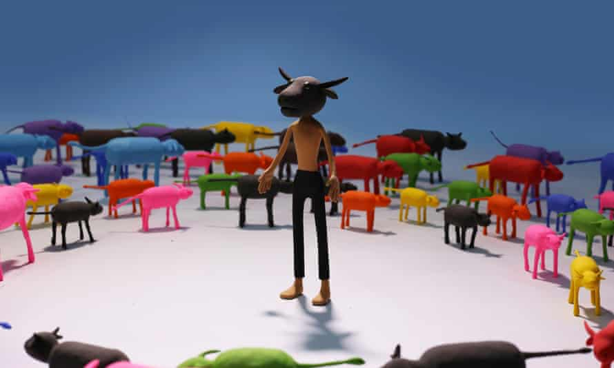 A still from the animation Flow, by artist Souliya Phoumivong, showing at APT9.