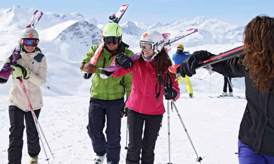 Action Outdoors under 25s ski trips