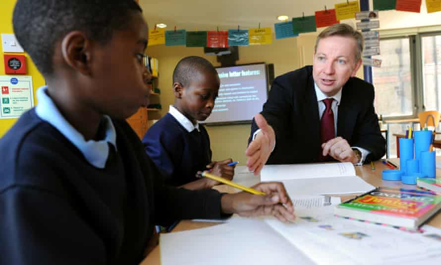 Michael Gove was the driving force behind school reform while education secretary.