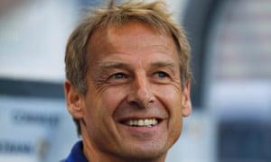 Jürgen Klinsmann: smiley coach.
