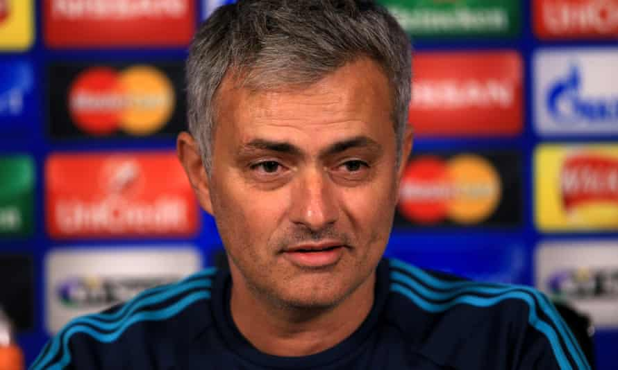 Jose Mourinho in his former role as Chelsea manager