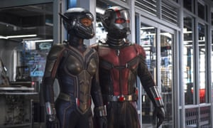 Small wonders … Evangeline Lilly and Paul Rudd in Ant-Man and the Wasp.