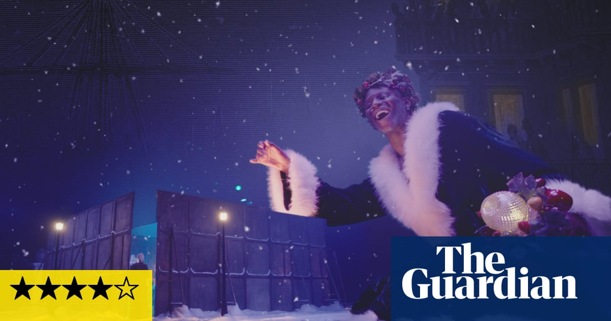 A Christmas Carol review – clever multimedia reworking of Dickens