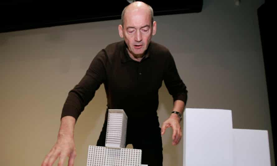 Dutch architect Rem Koolhaas, author of Delirious New York