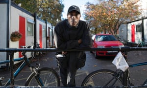 David Alder has been homeless since he was evicted from his flat eight years ago.