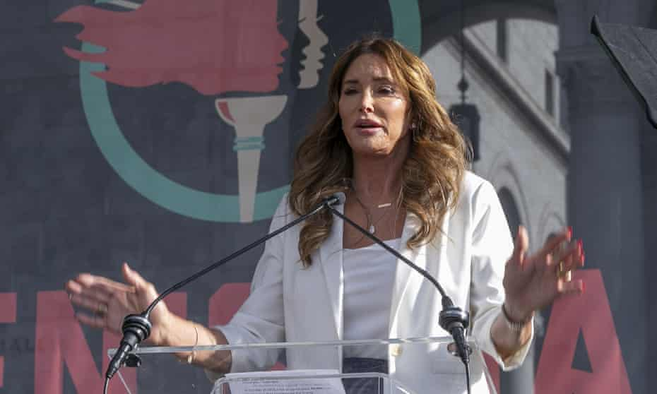 Caitlyn Jenner is running as a populist celebrity Republican.