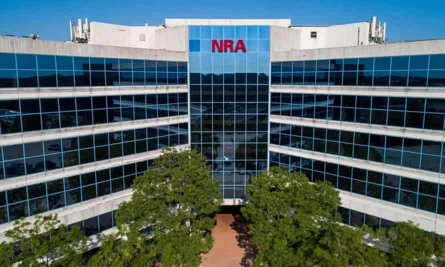 NRA headquarters in Fairfax, Virginia.