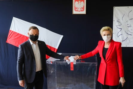 Andrzej Duda and his wife … keeping it simple.