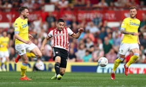 Neal Maupay stabs in the opening goal.