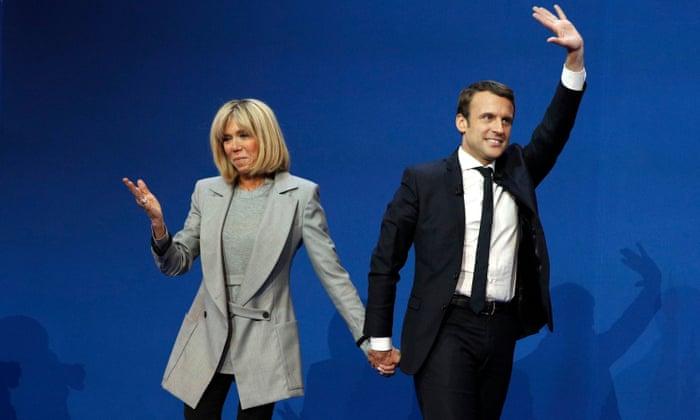 Orbiting Jupiter My Week With Emmanuel Macron Emmanuel Macron The Guardian
