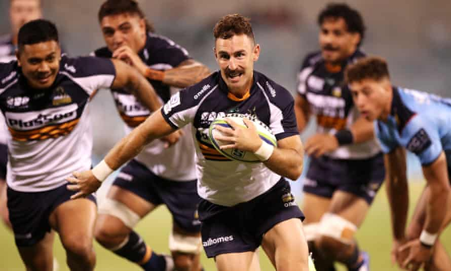 Nic White of the Brumbies