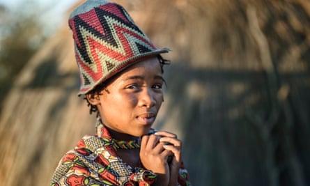 Bushmen girl
