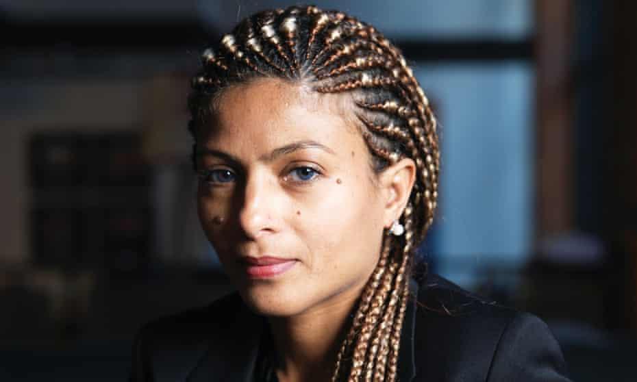 Ensaf Haidar, wife of Saudi blogger and human rights activist Raif Badawi.