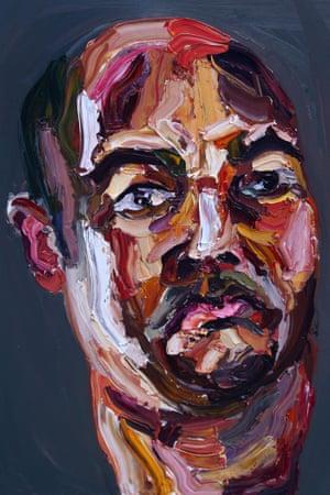 Myuran Sukumaran self-portrait.