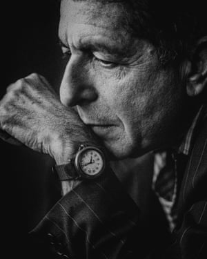 Leonard Cohen … Photographed in 1992.