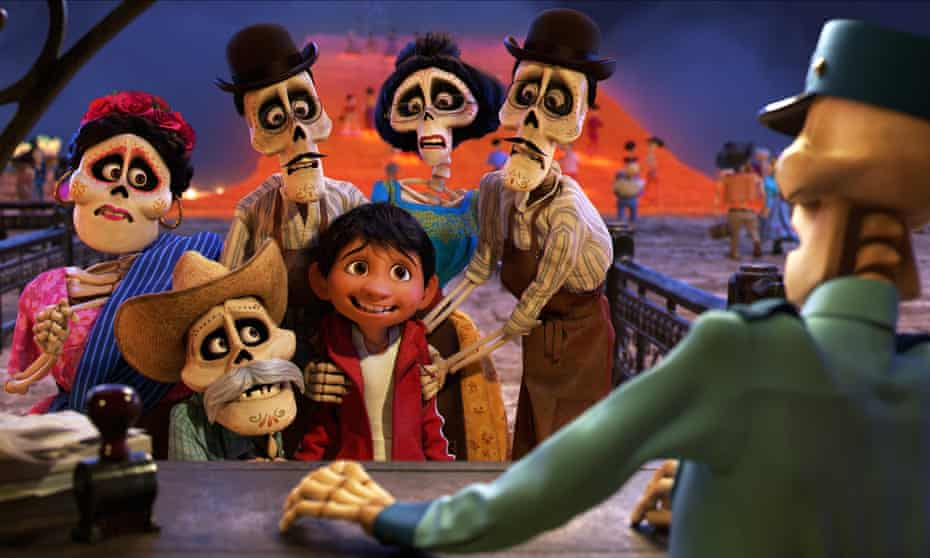 Miguel and pals in Coco