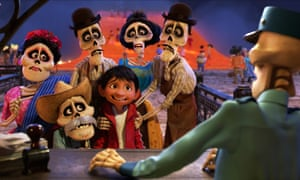 A scene from Coco.