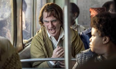Joaquin Phoenix in Todd Phillips's The Joker.