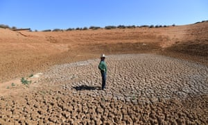 dried up dam